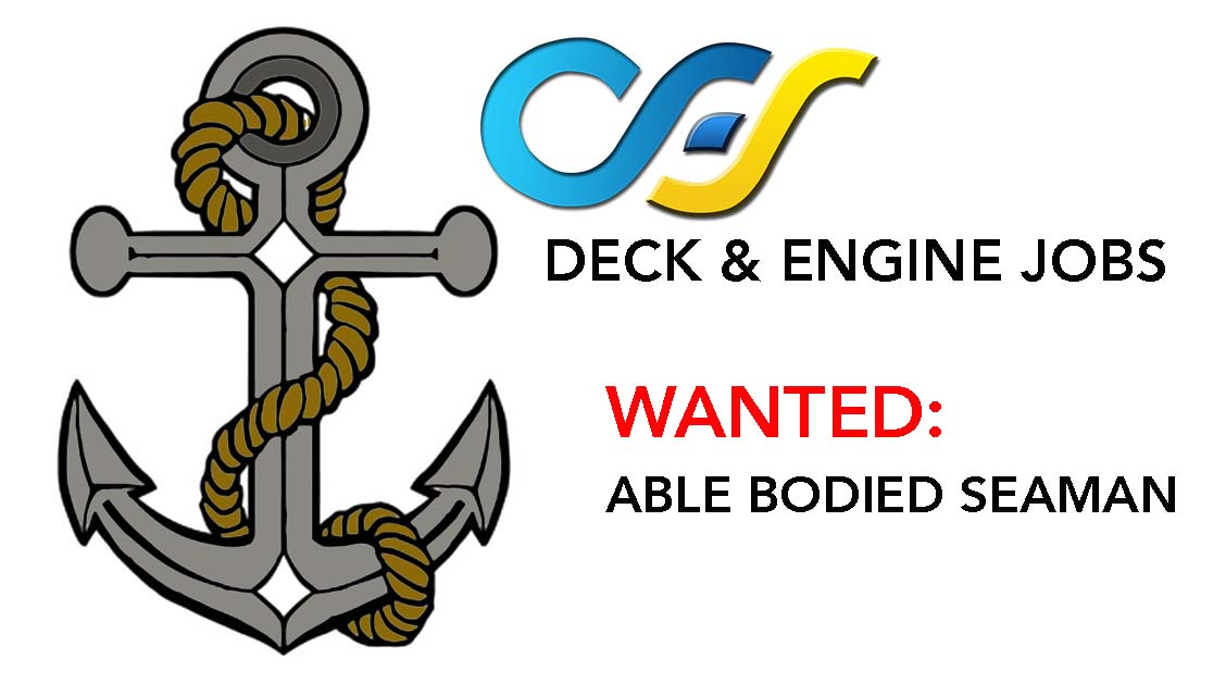 wanted deck engine able bodied seaman