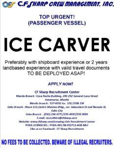 C.F. Sharp Crew Managment Inc.