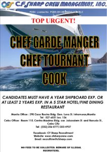 C.F. Sharp Crew Management Inc.